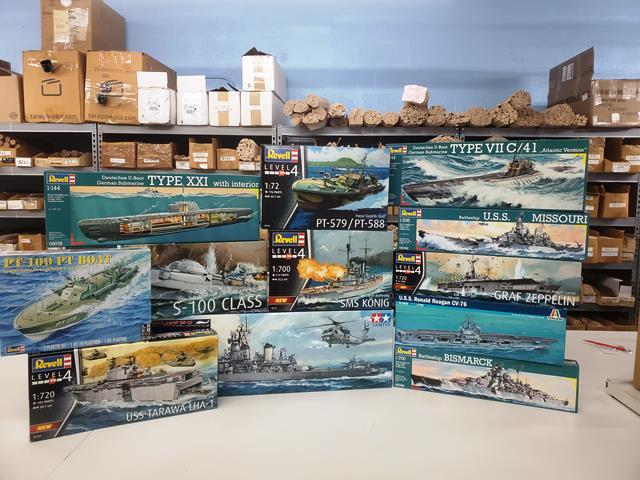 More New Plastic Model Kits from Revell Germany, Tamiya, AirFix, Italeri & Atlantis